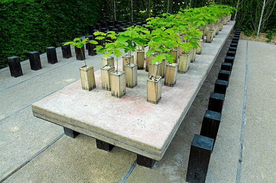 Le jardin Forest table