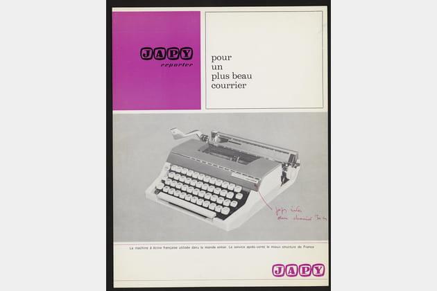 La machine à écrire JAPY Message