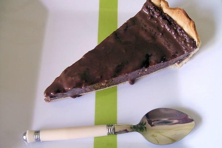 Flan au chocolat en poudre