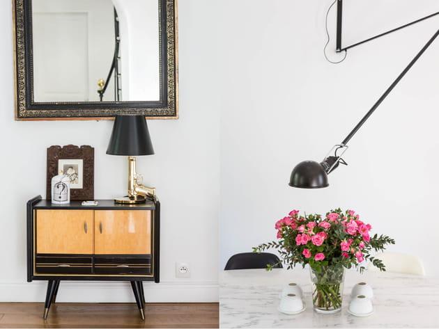 Lampes de designer et pièces chinées