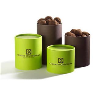 coffrets truffes de cacao et chocolat