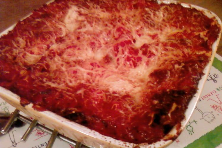Lasagnes à la mozzarella