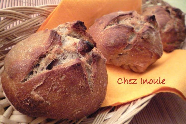 Petits pains bio aux noix