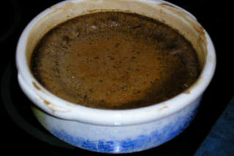 Clafoutis à la crème de marrons