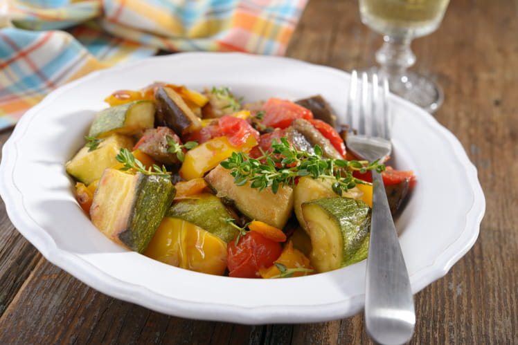 Ratatouille au Thermomix