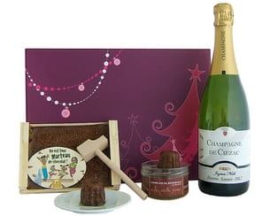 coffret champagne & chocolat