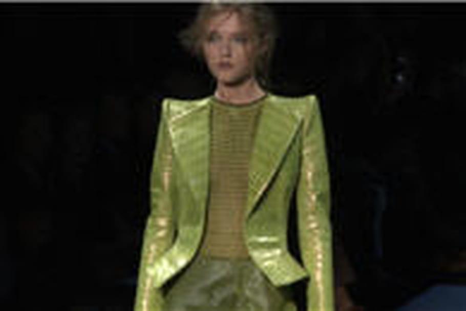 Défilés haute couture printemps-été 2012 : tendance croco
