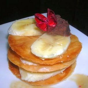 mille-feuille bananes fudge