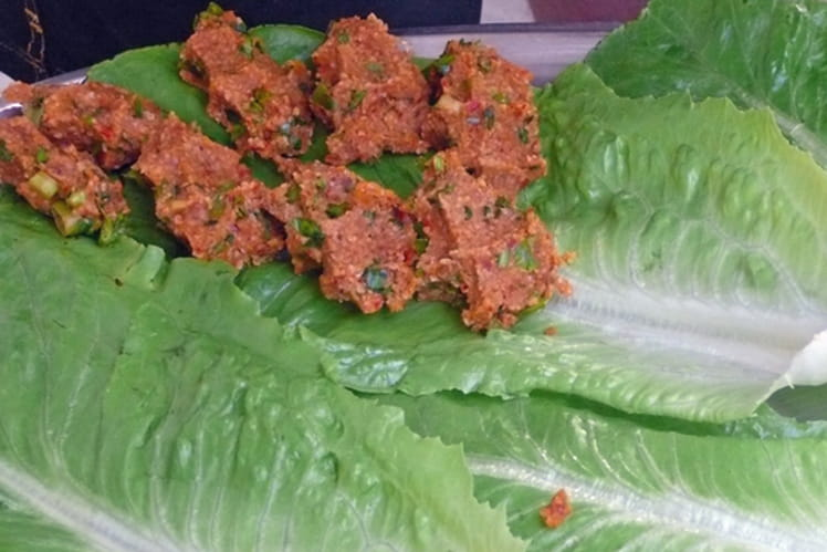 Cig köfte (boulettes crues)