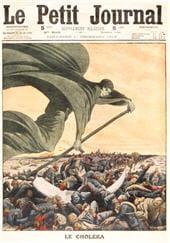 le choléra, qui sévit surtout au xixe siècle, fit lui aussi des ravages parmi la