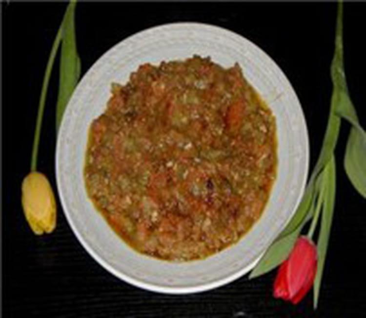 Recette de salade de poivron la recette facile - Salade de poivron grille ...