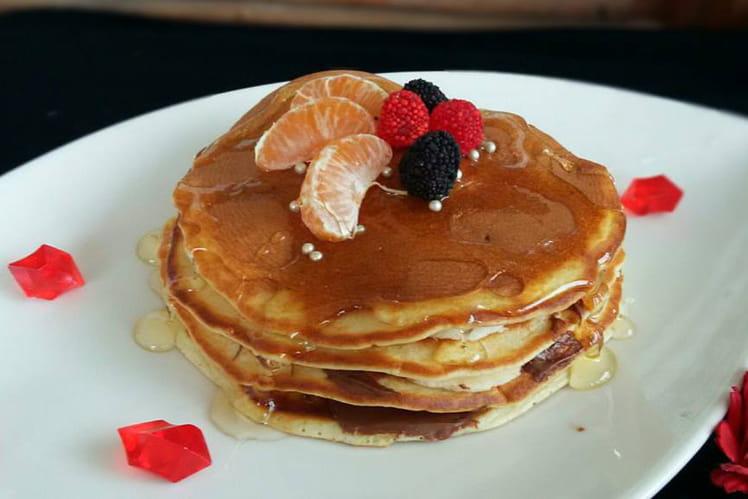 Pancakes extra moelleux au Nutella