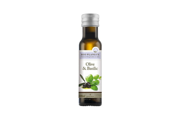 L'huile d'olive & basilic de Bio Planète