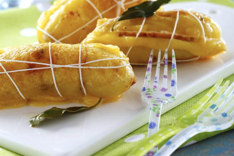Petits sandwichs de pommes de terre Ratte du Touquet