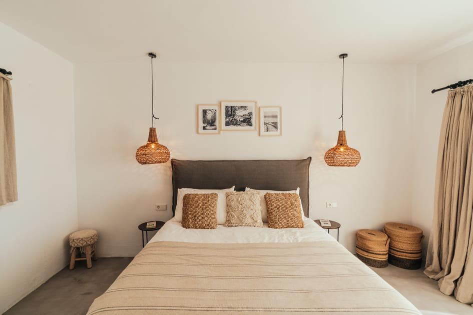 Des chambres bohèmes et relaxantes