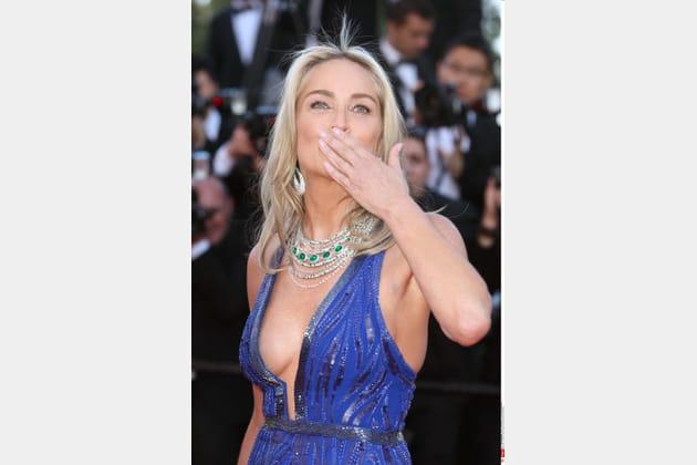 Sharon Stone, une star qui a du toupet