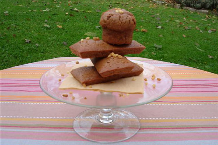 Financiers au praliné