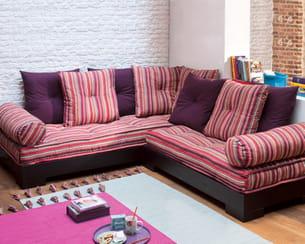 canapé d'angle peigne de la maison de valérie