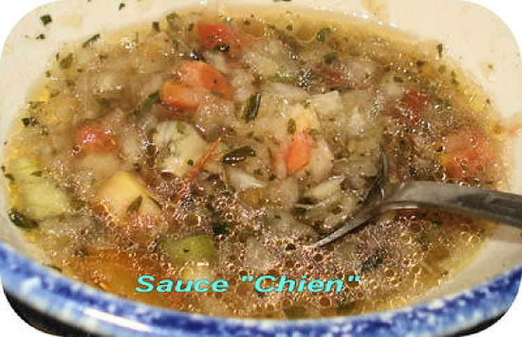 Recette de sauce chien la recette facile for Cuisines incorporees