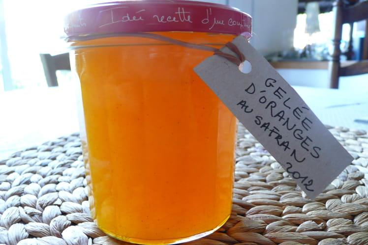 Gelée d'oranges au safran