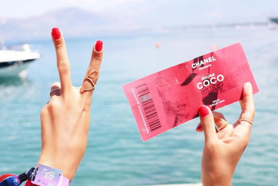 Le look blogueuse de la semaine : avec Hannah au Chanel Rouge Coco On Tour à Calvi