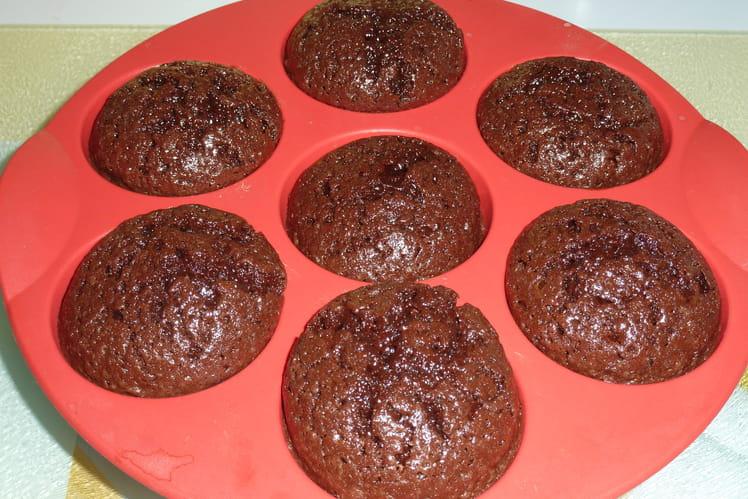 Muffins très moelleux au chocolat