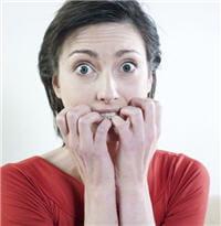 les symptômes de la peur sont facilement reconnaissables en général.