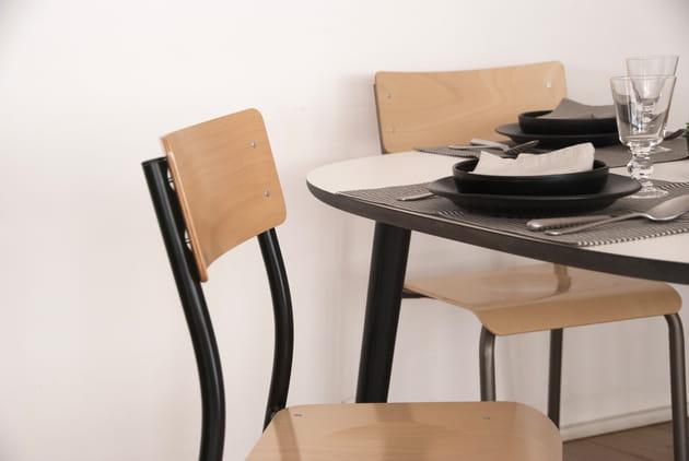 La chaise André par Simire x La Trésorerie, version naturel