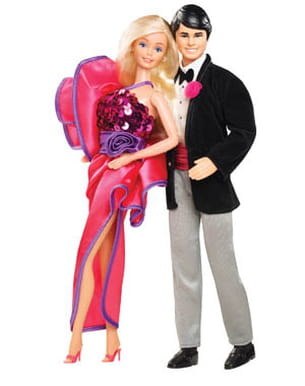 ken et barbie en 1984