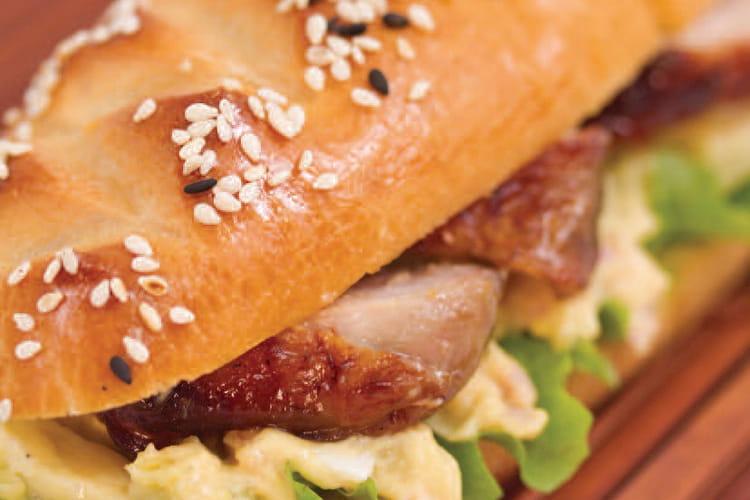 Sandwich poulet-teriyaki