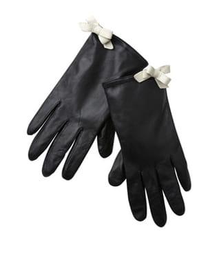 gants en cuir de promod