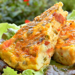 tortilla 'à la grecque'