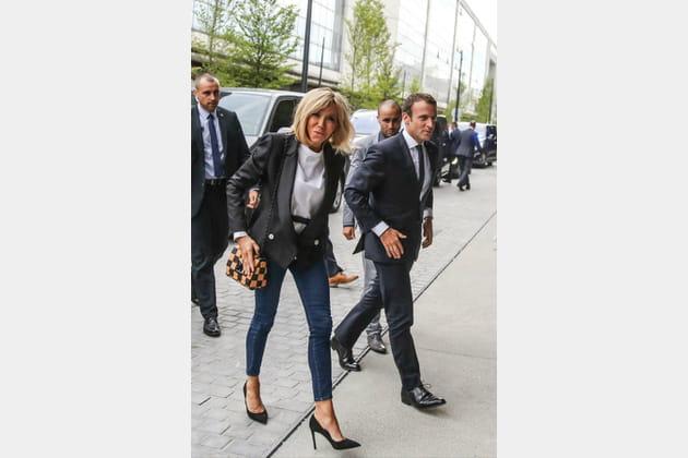 Brigitte Macron le 30juin 2017