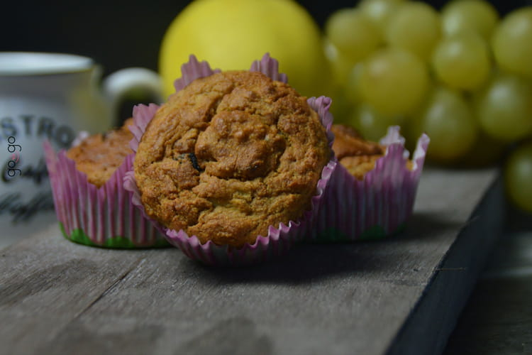 Muffin pomme-poire