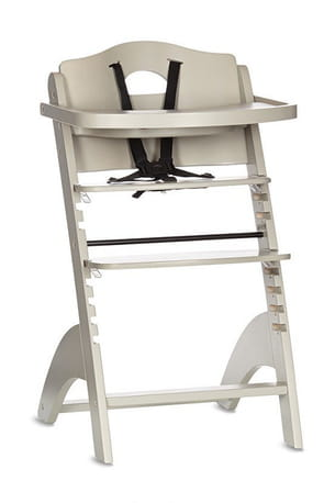 Chaise haute orchestra en bois zeta - Coussin pour chaise haute en bois ...