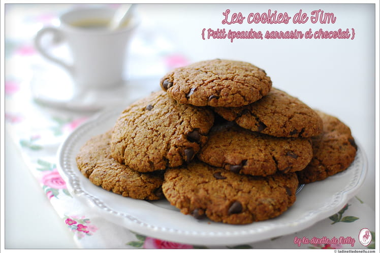 Cookies au chocolat light