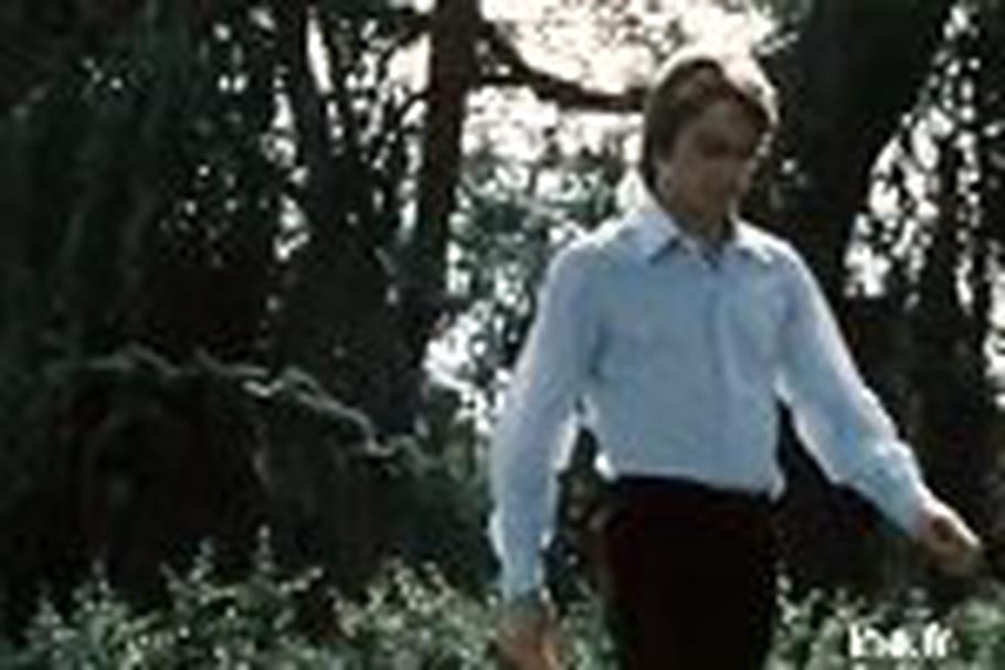 Claude François vous fait visiter son jardin du moulin de Dannemois