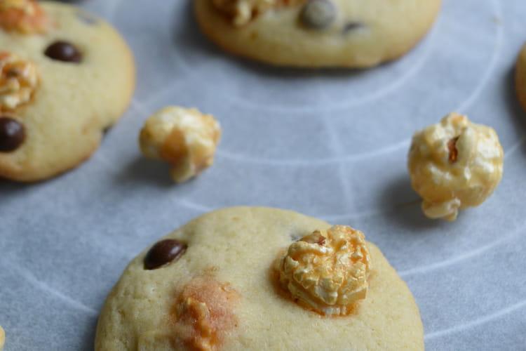 Cookies au popcorn