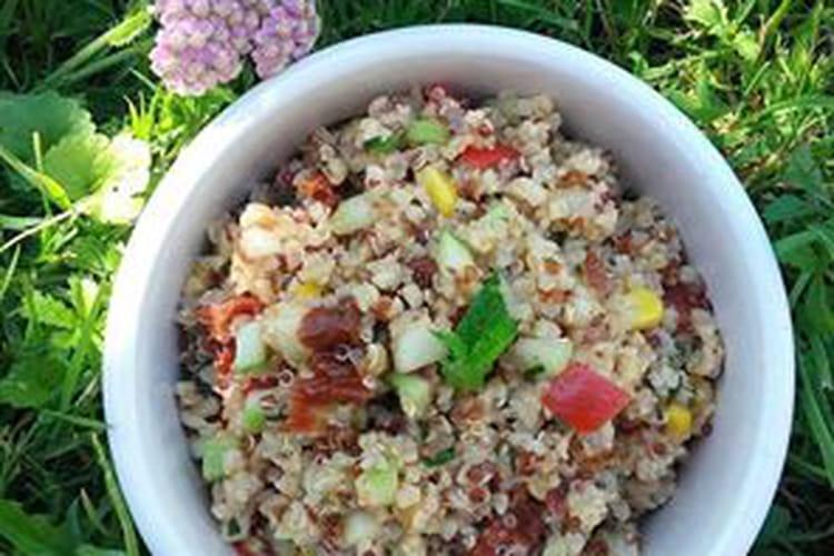 Taboulé quinoa-boulgour