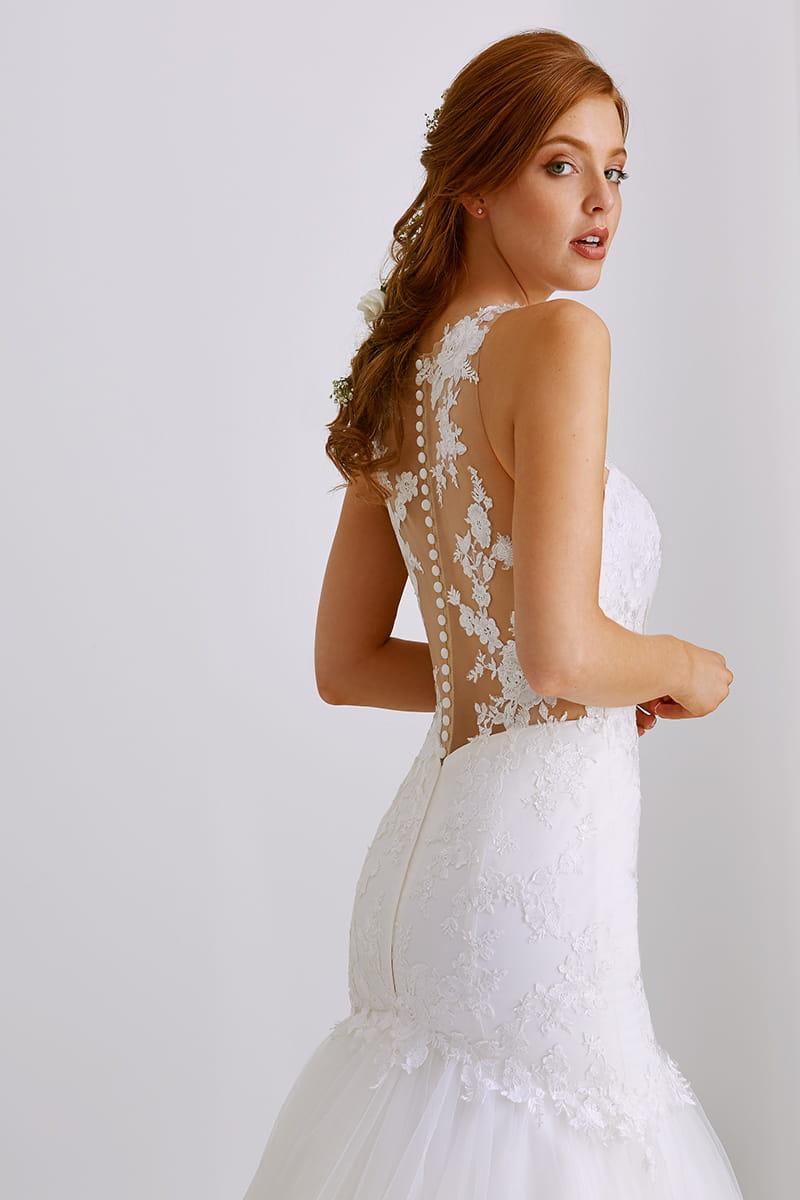 100% authentique original à chaud vente en ligne Robe de mariée Delicia, Tati Mariage