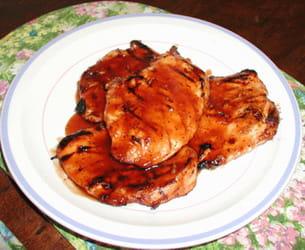 blancs de poulet grillés