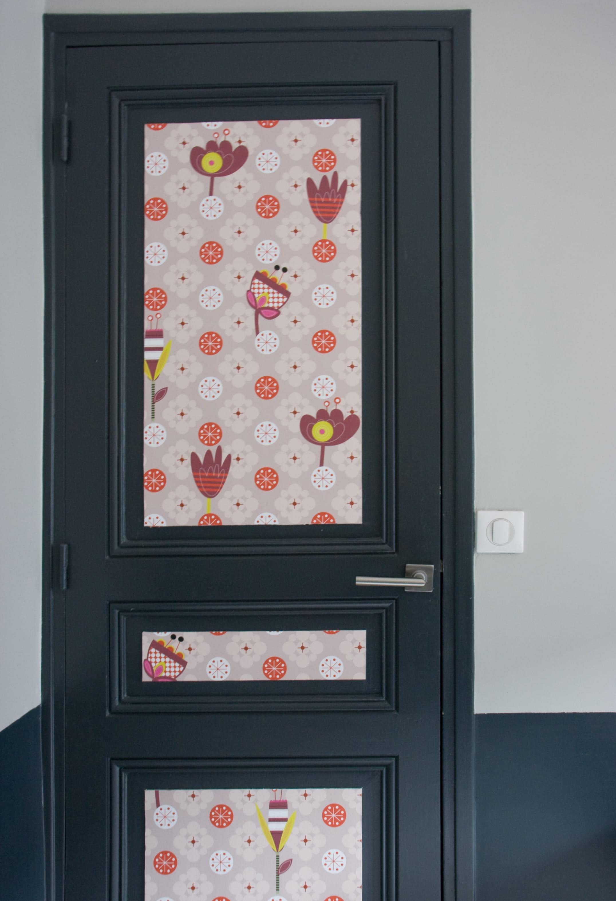Donner Du Relief à Une Porte - Papier peint porte