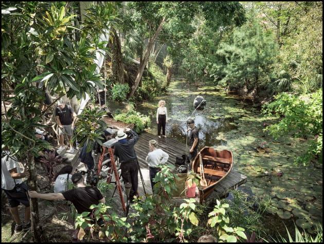 Shooting de Julia Garner: ambiance