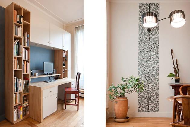 Petit loft zen : bureau