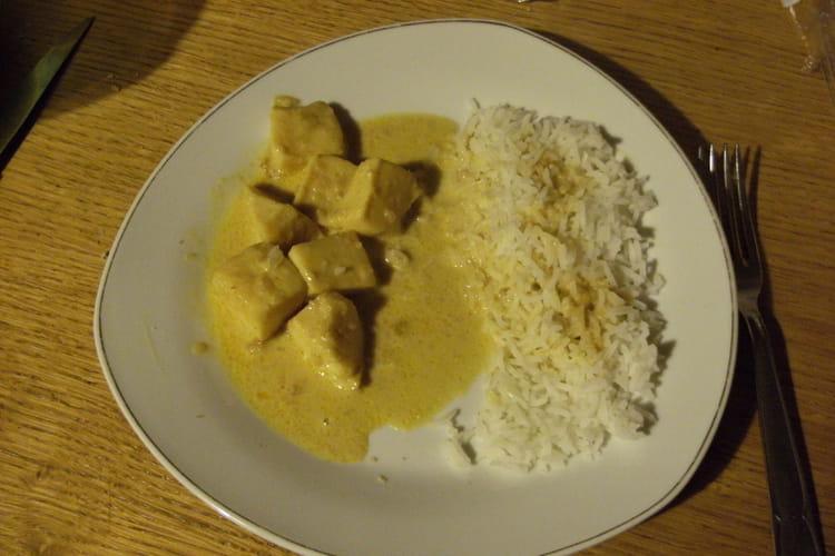 Blancs d'encornets au curry