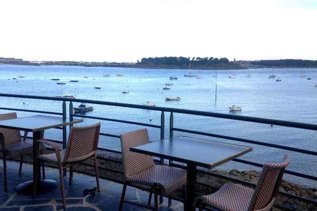 Repas breton sur terrasse d'exception