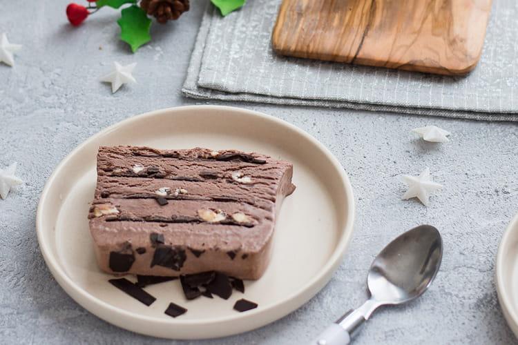 Bûche glacée au chocolat façon Viennetta©
