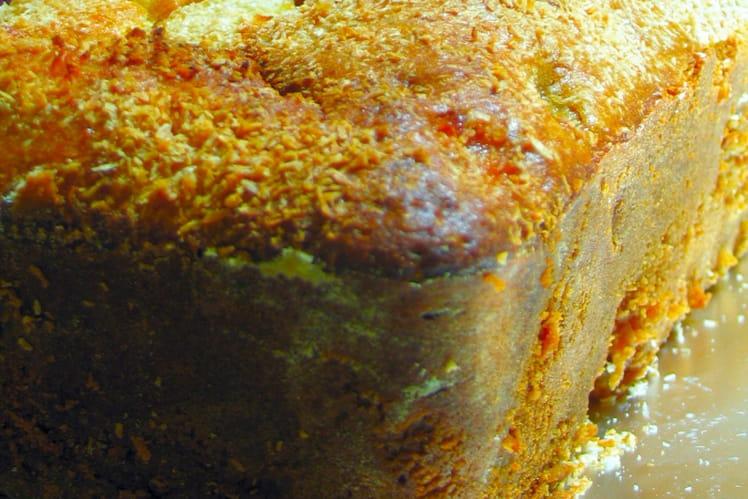 Cake poires-coco