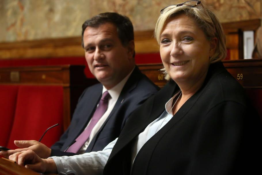 Il s'aimaient depuis 10ans, Marine Le Pen et Louis Aliot ont rompu
