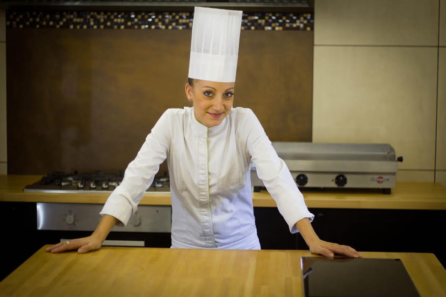 """Coline Faulquier : """"Je rêve d'être à la tête d'un restaurant étoilé"""""""